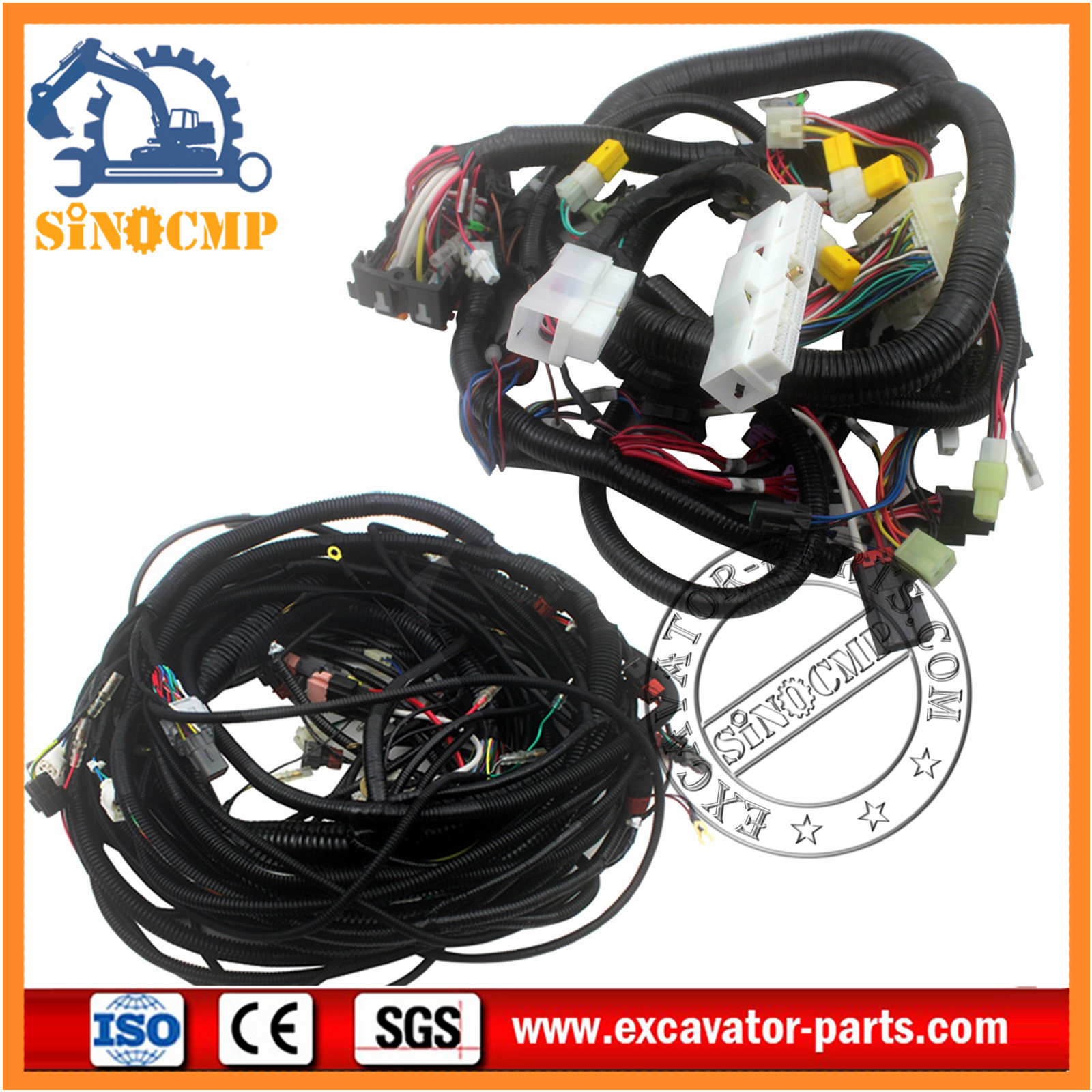 hitachi ex100-3 wiring harness