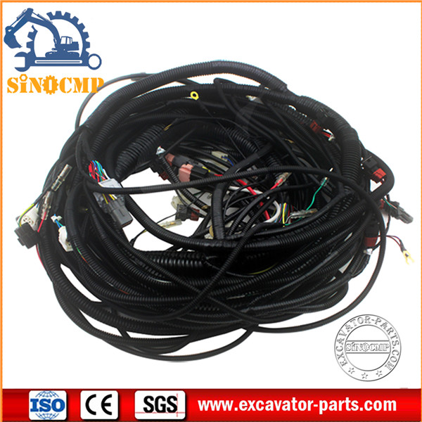 Hitachi Excavator Wiring Harness 0001045 For Ex200