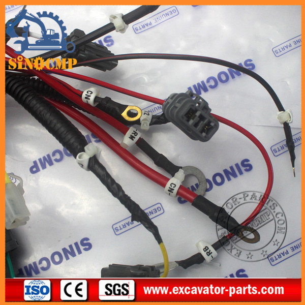 PC220 6 PC200 6A PC200 6 Excavator Wiring Harness 20Y 06 22713 20Y 06 22711 5 20y 06 22713 external wire harness fit komatsu pc200 6a pc210 6 pac wire harness at mifinder.co