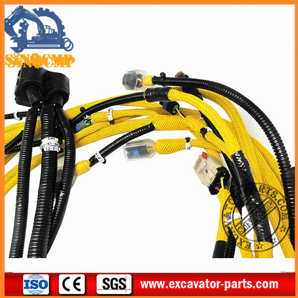 6251 81 9810 wiring harness for komatsu pc400 lc 8 excavator. Black Bedroom Furniture Sets. Home Design Ideas