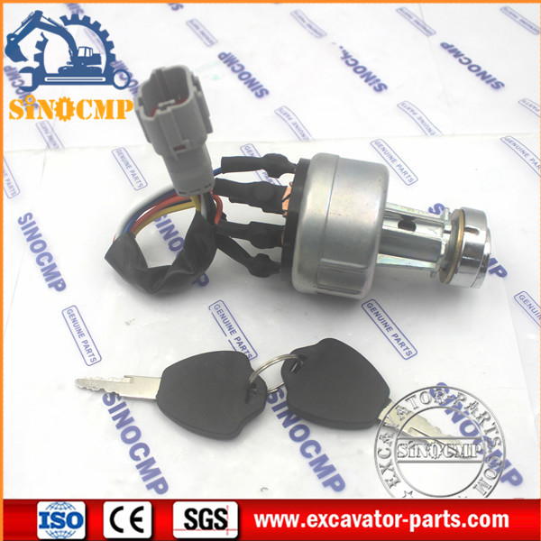 Ignition Starter Switch Fit R150-7 R210-7 R215-7 R220-7